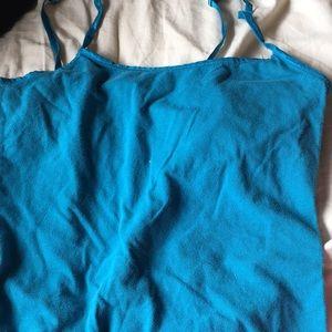 SO dark turquoise cami